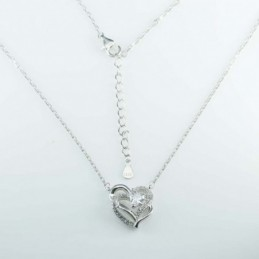Necklace Heart 13x15mm....