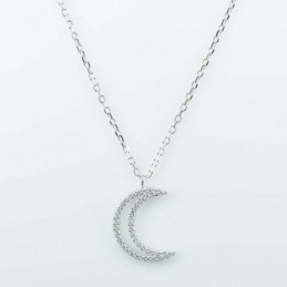 Necklace Moon 13x19mm....