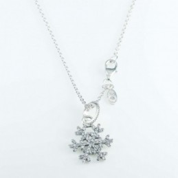 Necklace Snowflake 17mm....
