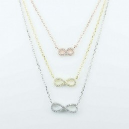 Necklace Infinity 3,pc...