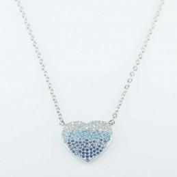 Necklace  Heart  16mm....