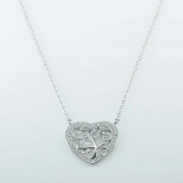 Necklace  Heart  15mm....