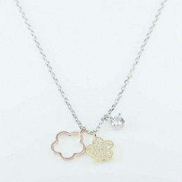 Necklace  Flower  4+8x10mm....