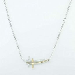 Necklace  Cross  13x25mm....