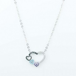 Necklace  Heart  18mm....