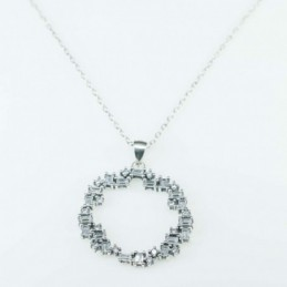 Necklace  Round  26mm. size...