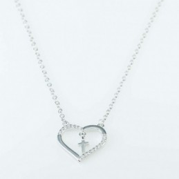 Necklace  Heart   48,cms...