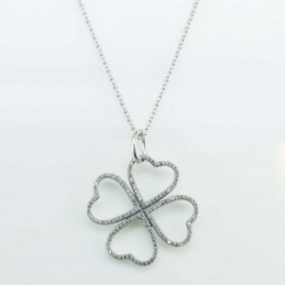 Necklace Heart 4,  26mm....