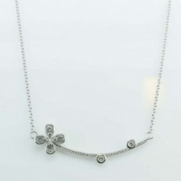 Necklace Flower 9x41mm....