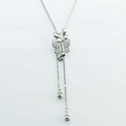 Necklace Butterfly 10x18mm....