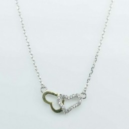 Necklace Heart 11x19mm....