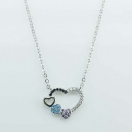 Necklace Heart 14x17mm....