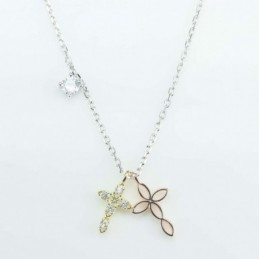 Necklace Cross 9x16mm....