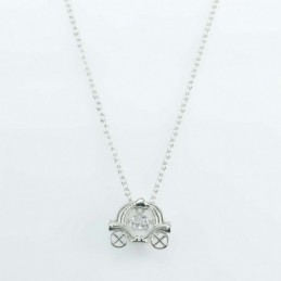 Necklace Mouse 12mm. Circonia