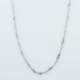 Necklace 1mm.x 50cms  Plain