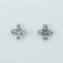 Earring  Flower  7mm. Circinia