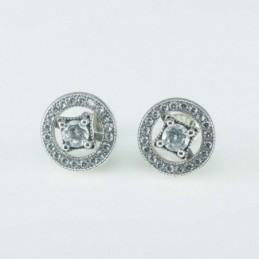 Earring  Round  5+12mm....
