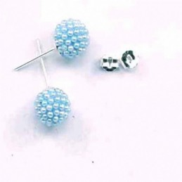 Earring ball 10m. micro...