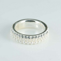 Ring 6mm. Crystal/micro...