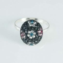 Ring half ball Oval flower...