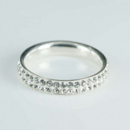 Ring 4mm. Crystal ligth...