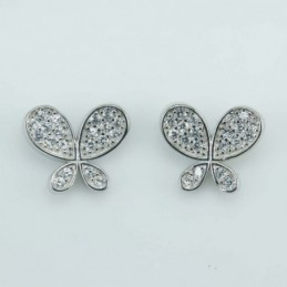 Earring  Bow  9x10mm....