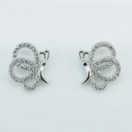Earring Butterfly 11x14mm....
