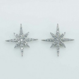 Earring Sea star 9mm....