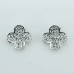 Earring  Flower  8mm....