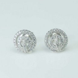 Earring  Round  10mm....