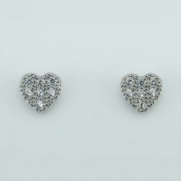 Earring  small Heart 6mm....