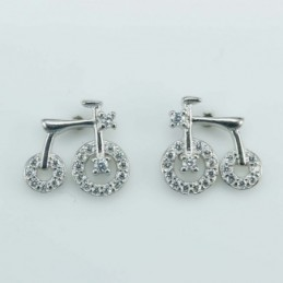 Earring Bicycle 11mm....