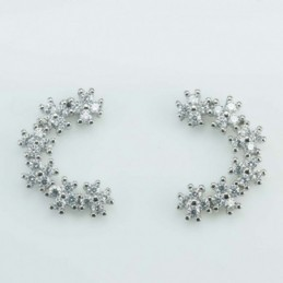 Bracelet ball 3-4mm.Crystal...