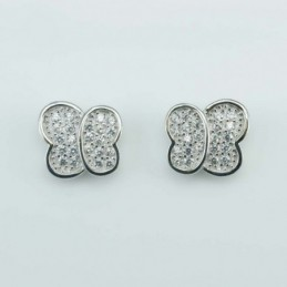 Earring  Butterfly 9mm....
