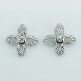 Earring Flower  10mm....