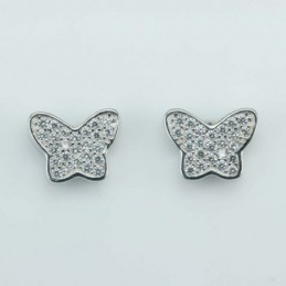 Earring Butterfly 7x10mm....