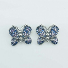 Earring Butterfly  11x13mm....