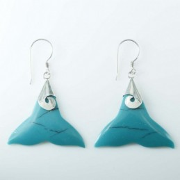 Earring Whale Tail...