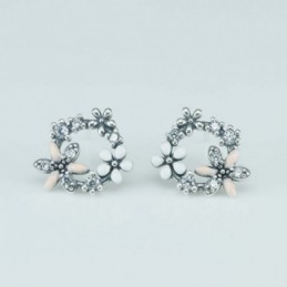 Earring Flower 11x14mm....