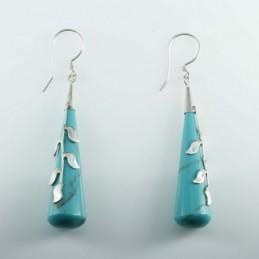 Earring Drop Turquoise...