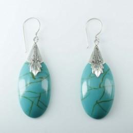 Earring Drop Turquoise...