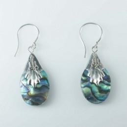 Earring Drop Abalon Shell