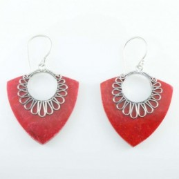 Earring Drop Coral