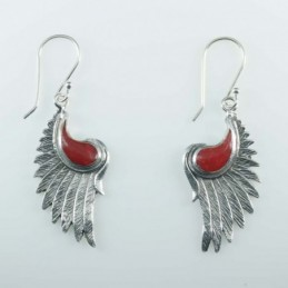 Earring Wing 14x28mm....
