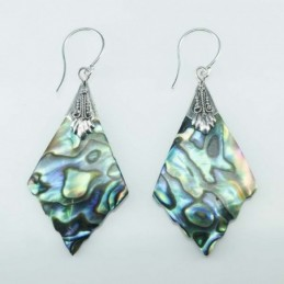 Earring Rhombus 22x39mm....