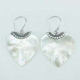 Earring heart 24x26mm....