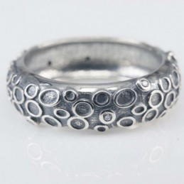 Ring Plain 6mm. Circonia
