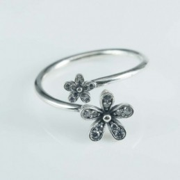 Ring Flower 2pc  5+10mm....