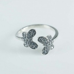 Ring Butterfly 2pc 7x 9mm....