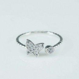 Ring  butterfly  3+7mm....